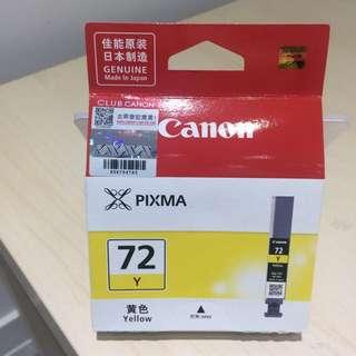 Canon 72號 printer ink 墨水