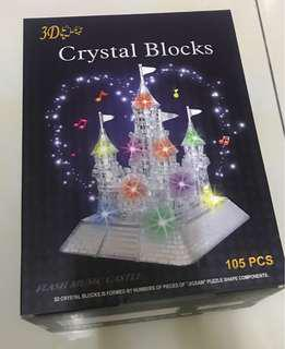 3D Crystal Blocks