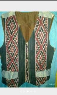 Baju atasan pria Rompi polos dan motif size m dan l