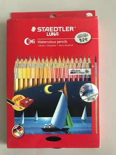Staedtler Luna 36 Watercolour pencils