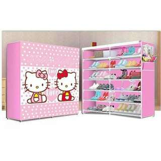 Double shoe rack HK