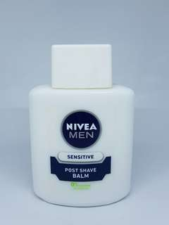 Nivea Men Post Shave Balm Face Primer alas Bedak