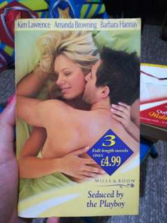Mills and Boon Seduced by the Playboy