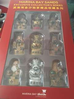 BN MBS Fu Lu Shou figurines (Full set of 18pcs)