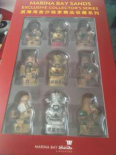 BN MBS Fu Lu Shou figurines (Full set of 18pcs)
