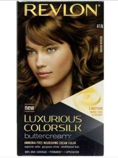 Revlon luxurious colorsilk buttercream medium brown