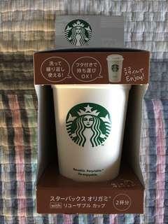 日版 全新Starbucks 咖啡杯 循環環保杯 包2包咖啡