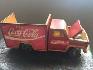 Vintage Coca-Cola Red Toy Truck