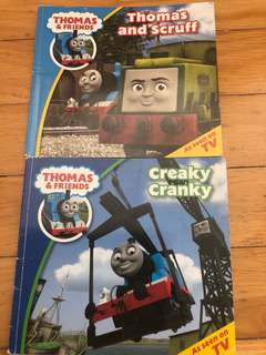 7 Thomas and friends books (5 hardcover)