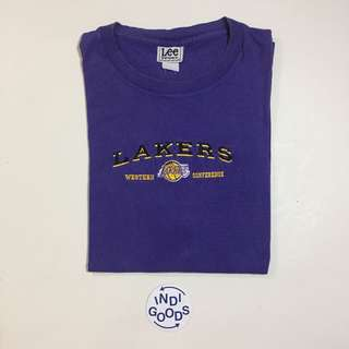 Vintage Lee Sports Lakers Bootleg Tee