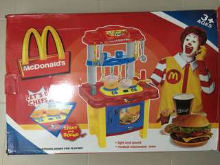 MCDONALDS KITCHEN PLAYSET FOR SALE!