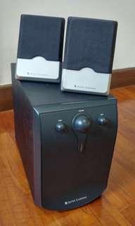 Altec Lansing Speaker with Sub woofer