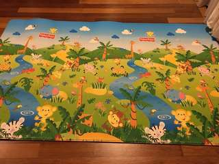 Fisher and Price Playmat