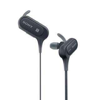 Sony MDR XB50BS Wireless Bluetooth Earphone Headset with brand new accessories pack
