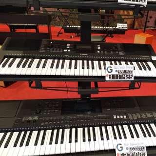 Yamaha keyboard psr e-363 bisa dicicil tanpa kartu kredit