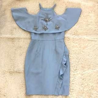 Skyblue dress