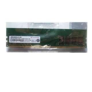 全新 創見 Transcend DDR4 2400 4G 桌上型記憶體 高穩定 高相容性 原廠 終身保固