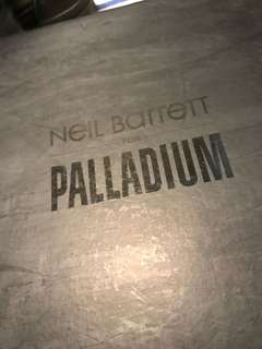 NEIL BARRETT for PALLADIUM (made in China)Eur41