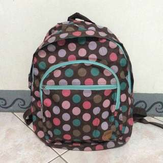 Polka dots School Bag