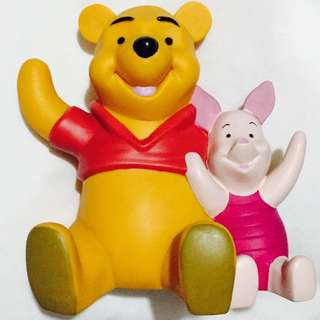 Winnie the Pooh and Piglet Coin Bank