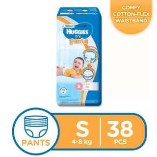 Huggies Dry Pants Small 38s