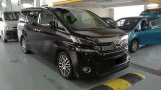 Toyota Vellfire'17 For Grab!!!!!