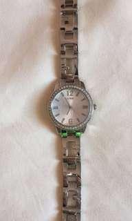 Women's guess silver watch