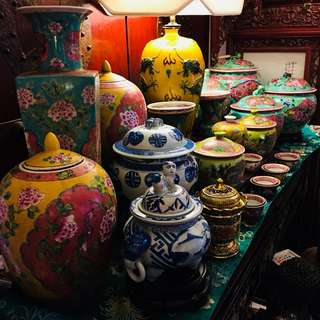Antique early 20s Peranakan Porcelain