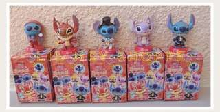 Stitch Leroy 4pc Figures Collectibles