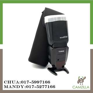 USED CANON SPEEDLITE 600EX-RT