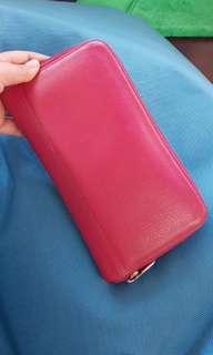 Longchamp Pink Wallet