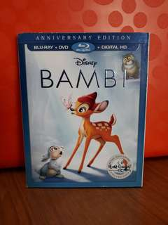 USA Blu Ray - Bambi (Disney)