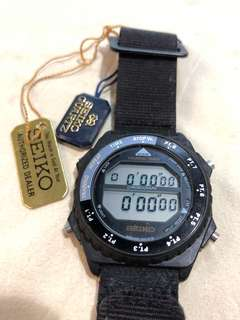 Seiko A826-6019 超罕有 Training Timer 計時器 可戴在手