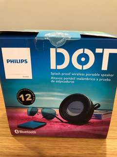 Philips Splash proof wireless portable speaker