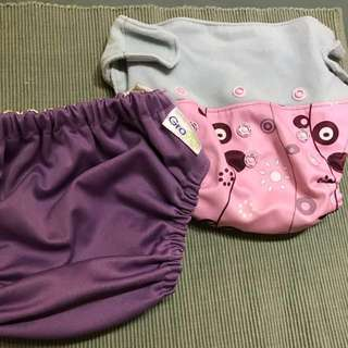 Grovia cloth diaper 2 pcs