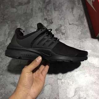 Nike Air Presto TP QS 全黑 黑武士 魚骨 襪套 812307 001 男
