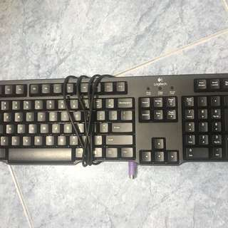 Logitech PS2 keyboard