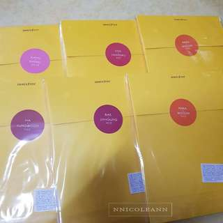 Wanna One Innisfree Goods Set