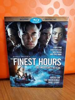 USA Blu Ray Slipcase - Finest Hours