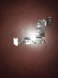 Apple iPhone 6s+ charging and earphone plug