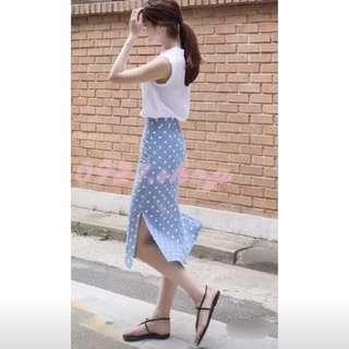 🚚 甜美系列💐 點點中長裙 NT390
