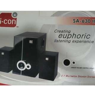 I-Con 2.1 speakers SA630II