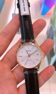 全新❗️半價都不用😎🌹玫瑰金鐵達時機械錶😎