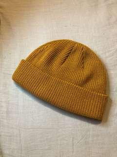 🚚 小圓針織帽 棕色