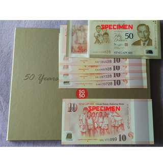 (D) SG50 Commemorative notes (Special endings numbers)