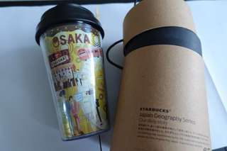 Starbucks Tumbler Japan Geography Series Osaka