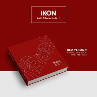 iKON Return Album (RED)