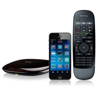 🚚 BNIB - $125 - Logitech Harmony Smart Control (Hub and Remote)