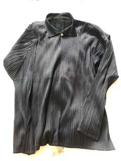 Issey Miyake pleats Please Black Top