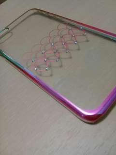 Iphone 6 plus Pink and Gold Phone Case! Only 200 pesos!